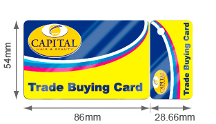 Personalised plastic business cards for all uses at printed plastic snap off cards reheart Choice Image